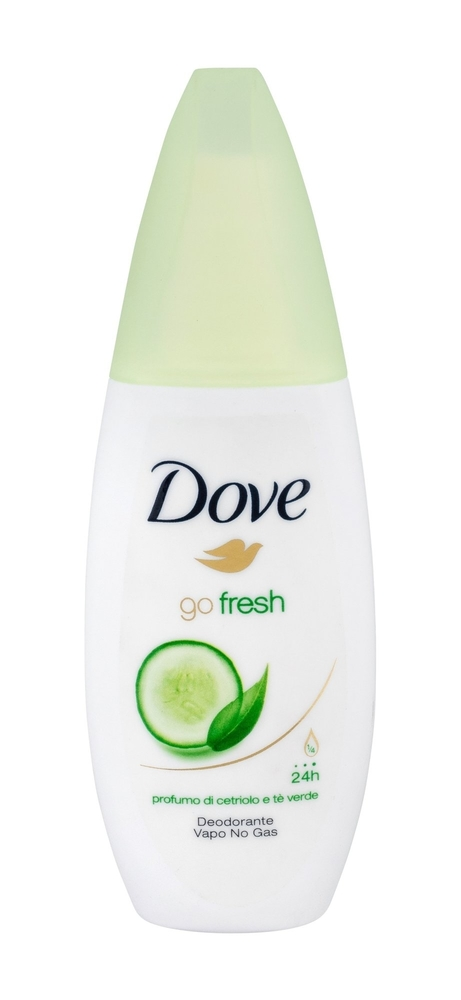 Dove Go Fresh Cucumber Deodorant 75ml Alcohol Free 24h (Deo Spray)