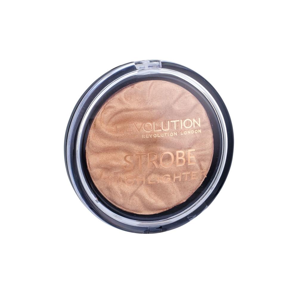 Makeup Revolution London Vivid Strobe Highlighter Brightener 7,5gr Gold Addict