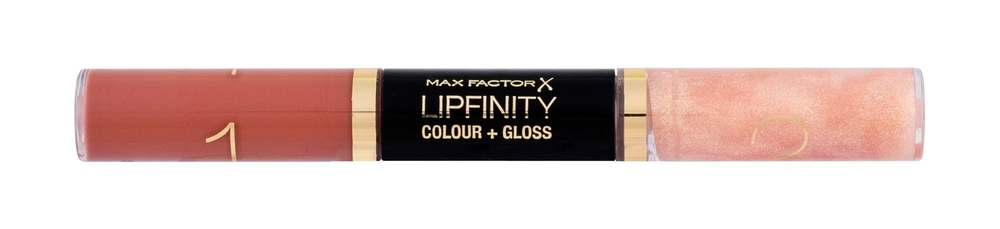 Max Factor Lipfinity Colour + Gloss Lipstick 2x3ml 620 Eternal Nude (Glossy)
