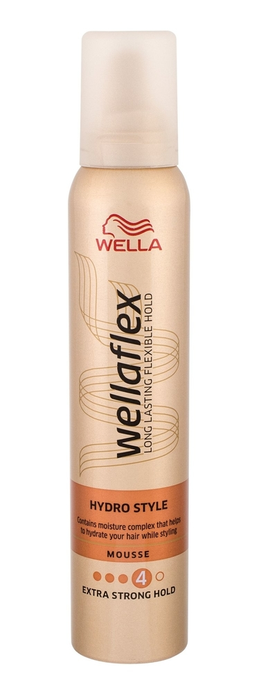 Wella Flex Hydro Style Hair Mousse 200ml (Extra Strong Fixation)