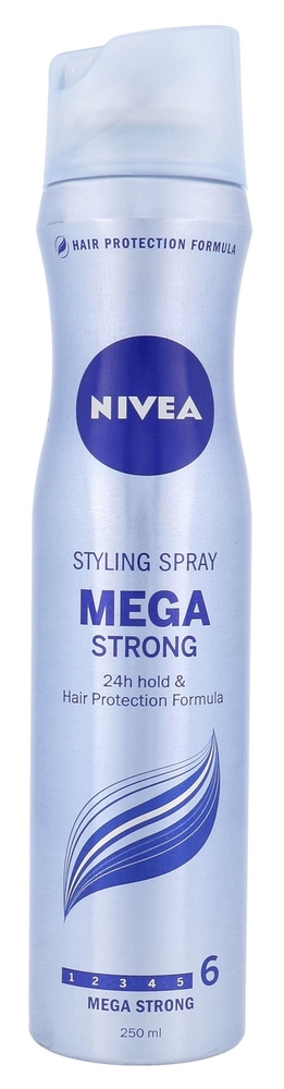 Nivea Mega Strong Hair Spray 250ml (Extra Strong Fixation)