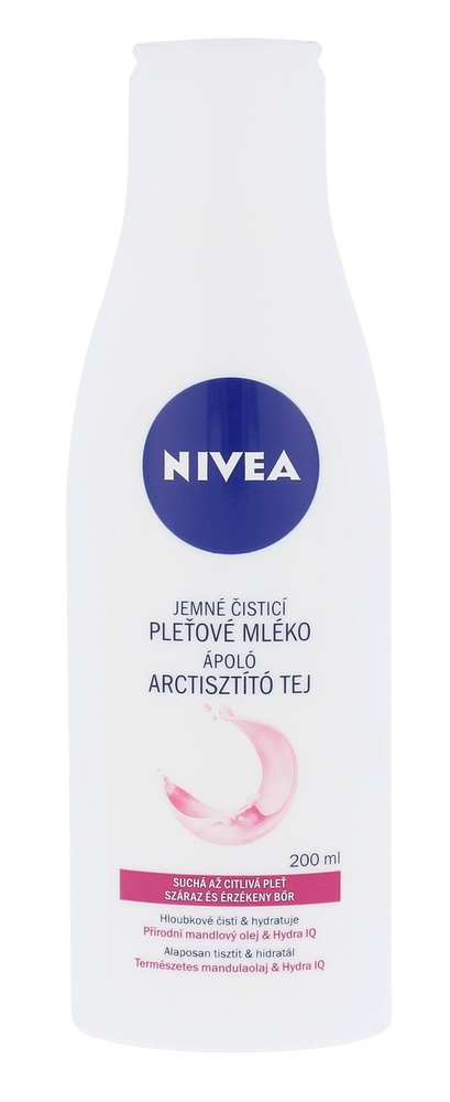 Nivea Indulging Cleansing Milk 200ml (Dry)