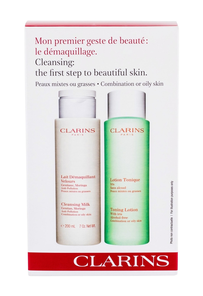 Clarins Cleansing Milk With Gentian Cleansing Milk 200ml (Oily - Mixed) oμορφια   πρόσωπο   καθαρισμός προσώπου
