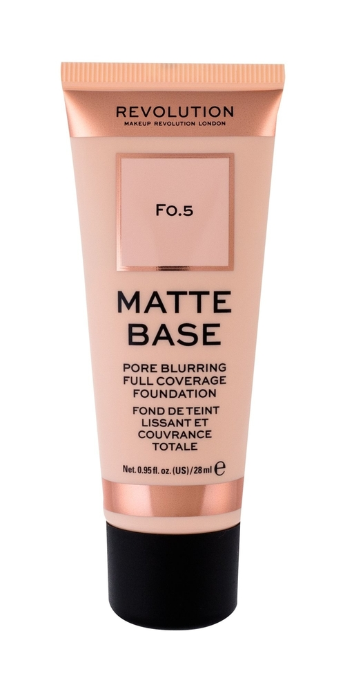 Makeup Revolution London Matte Base Makeup 28ml F0,5