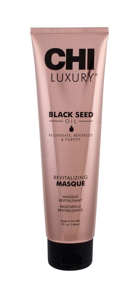Farouk Systems Chi Luxury Black Seed Oil Hair Mask 148ml (Unruly Hair - Damaged Hair)