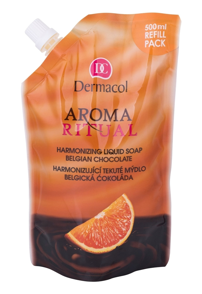 Dermacol Aroma Ritual Belgian Chocolate Liquid Soap 500ml Refill