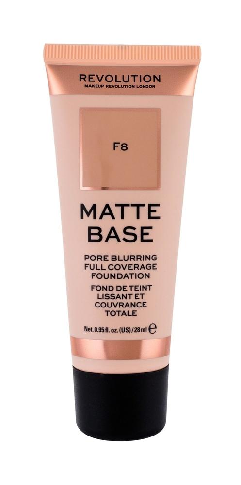 Makeup Revolution London Matte Base Makeup 28ml F8