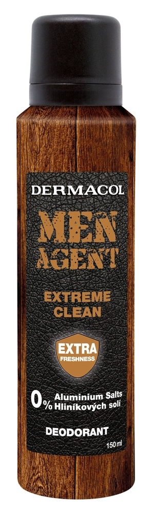 Dermacol Men Agent Extreme Clean Deodorant 150ml Aluminum Free (Deo Spray)