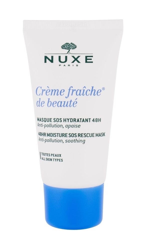 Nuxe Creme Fraiche De Beaute 48hr Moisture Sos Rescue Mask Face Mask 50ml (All Skin Types - For All Ages)