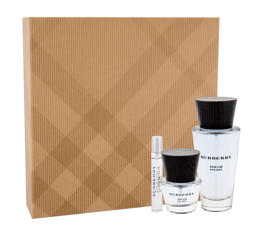 Burberry Touch For Men Eau De Toilette 100ml Combo Edt 100 Ml + Edt 7,5 Ml + Edt 30 Ml