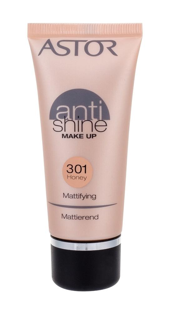 Astor Anti Shine Makeup Mattifying Makeup 30ml 301 Honey oμορφια   μακιγιάζ   μακιγιάζ προσώπου   make up