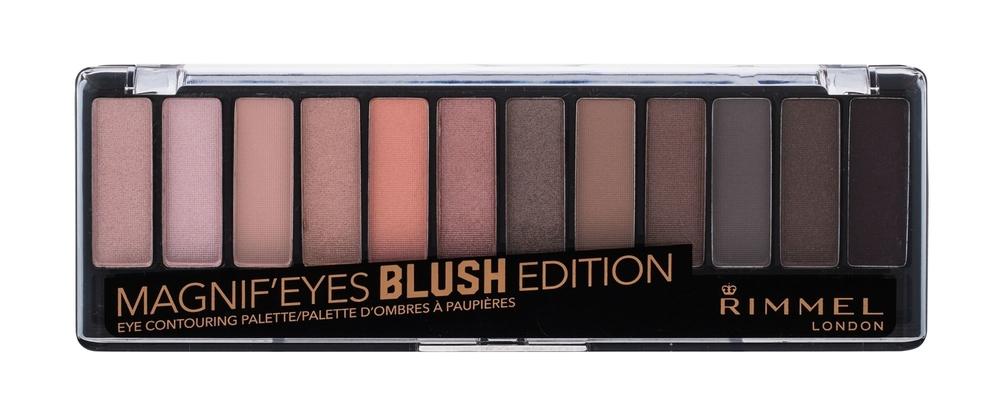 Rimmel London Magnif Eyes Contouring Palette Eye Shadow 14,16gr 002 Blush Edition