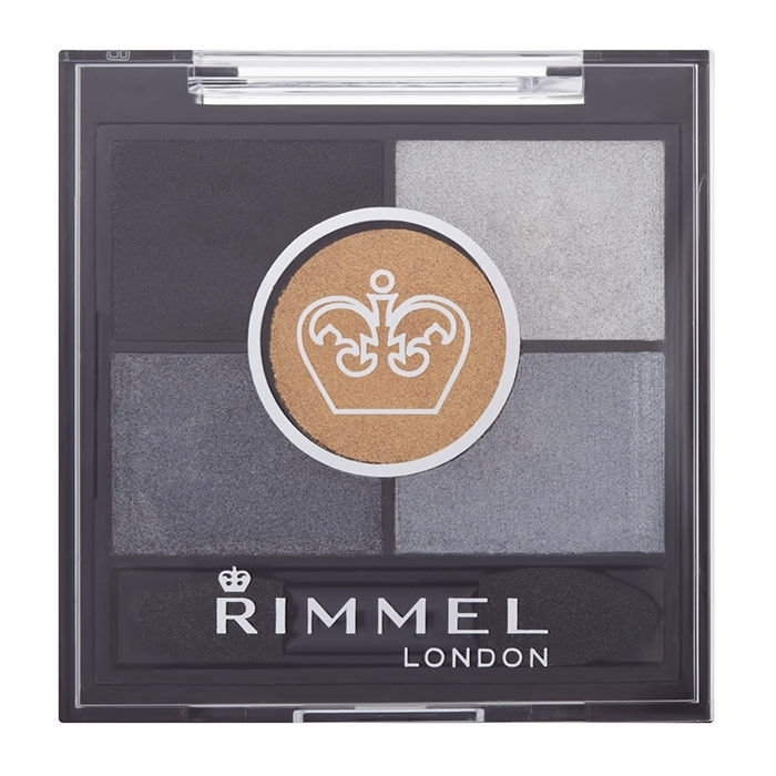 Rimmel London Glam Eyes Hd Eye Shadow 3,8gr 023 Foggy Grey