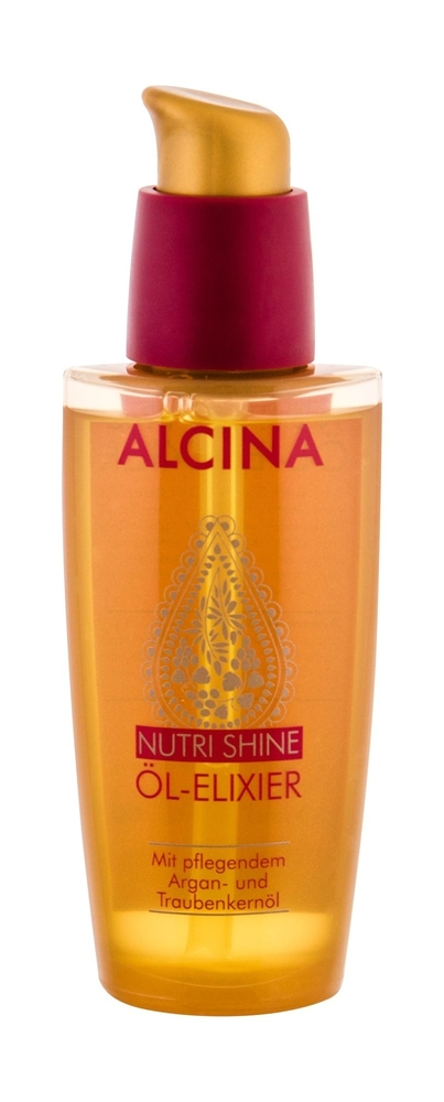 Alcina Nutri Shine Hair Oils And Serum 50ml (Damaged Hair - Dry Hair)