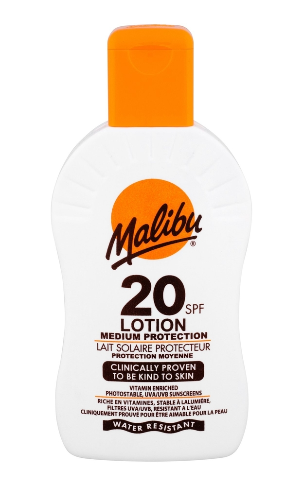 Malibu Lotion Sun Body Lotion 200ml Waterproof Spf20