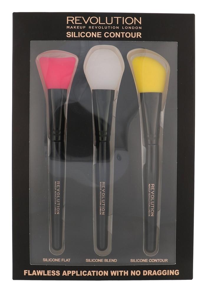 Makeup Revolution London Brushes Brush 1pc Combo: Flat Brush 1 Pc + Blending Bru oμορφια   μακιγιάζ   μακιγιάζ προσώπου   αξεσουάρ μακιγιάζ