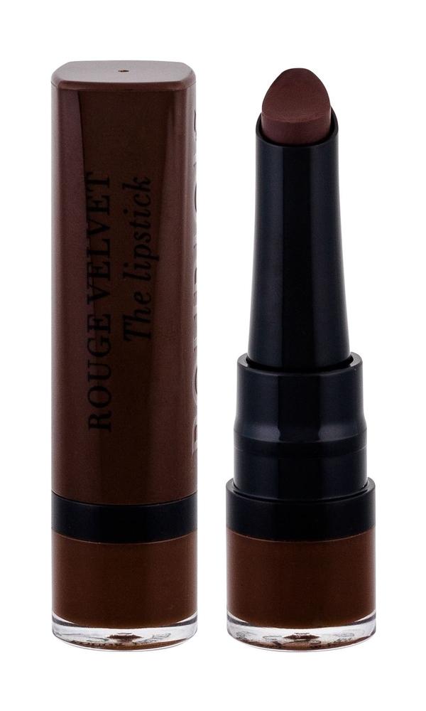 Bourjois Paris Rouge Velvet The Lipstick Lipstick 2,4gr 25 Maca/brown (Matt)