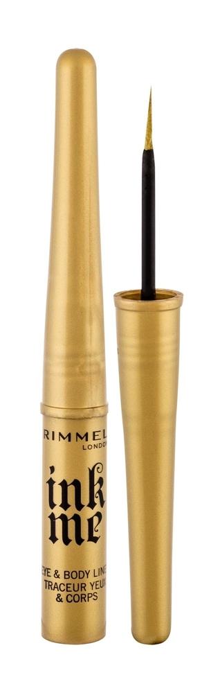 Rimmel London Ink Me Eye Line 3,5ml Waterproof 002 Gold (Liquid)