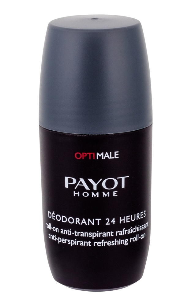 Payot Homme Optimale Deodorant 24 Heures Antiperspirant 75ml Alcohol Free (Roll-on)