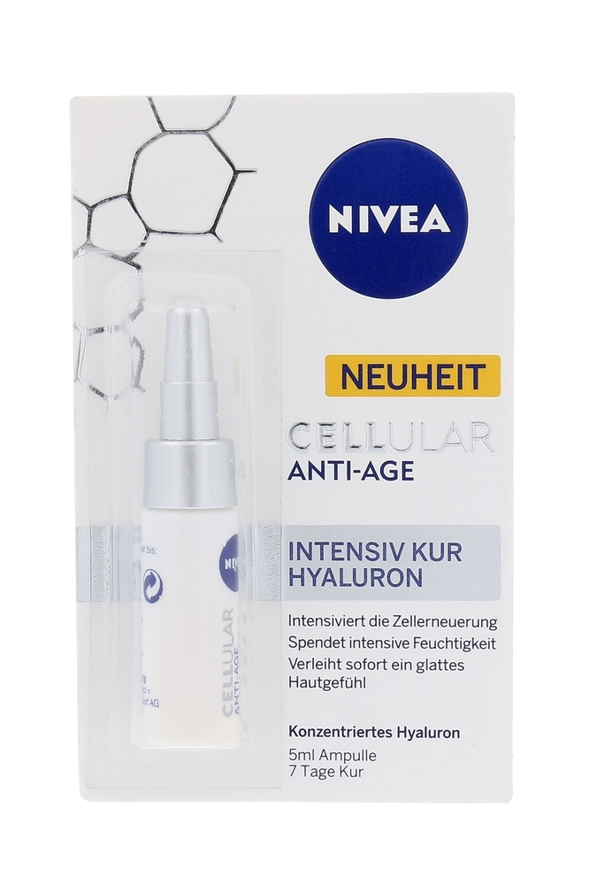 Nivea Cellular Anti-age Intensive Cure Hyaluron Skin Serum 5ml (Wrinkles - All Skin Types)
