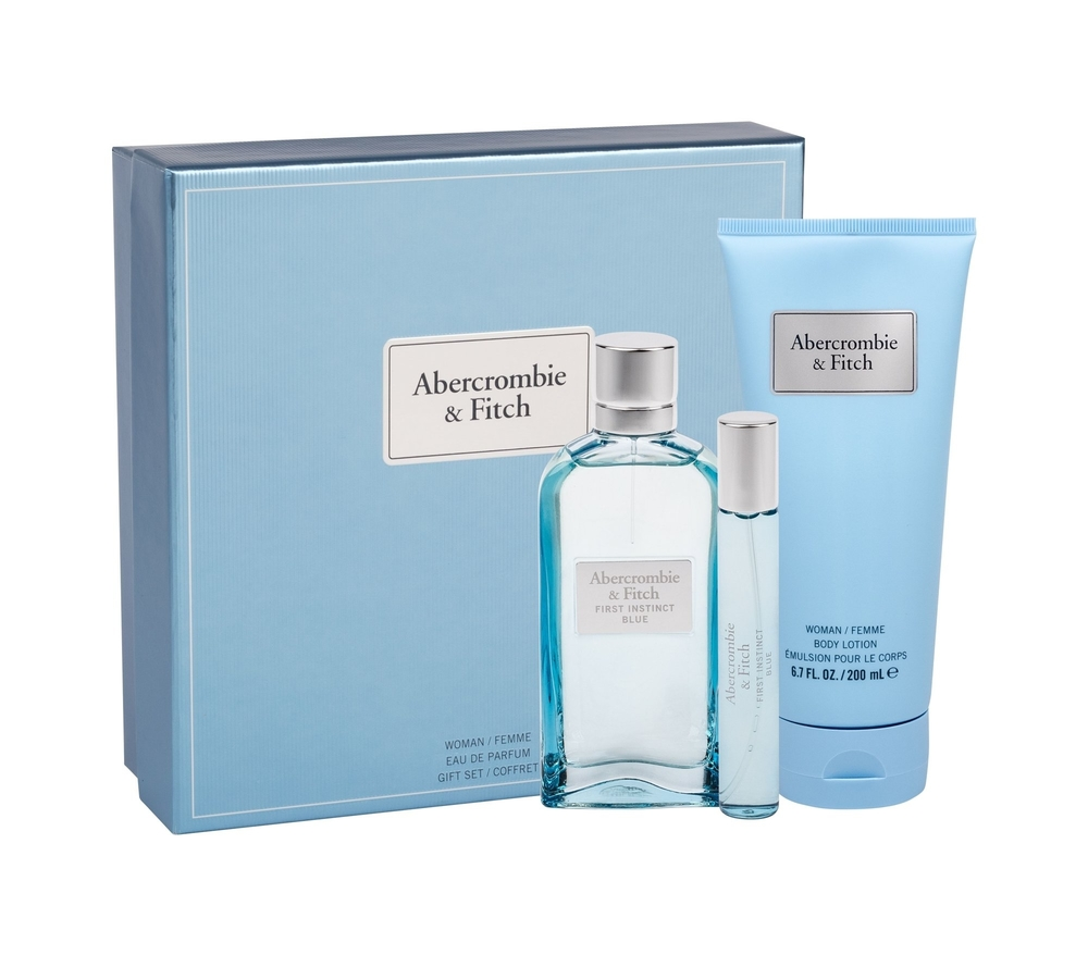 Abercrombie Fitch First Instinct Blue Eau De Parfum 100ml - Set
