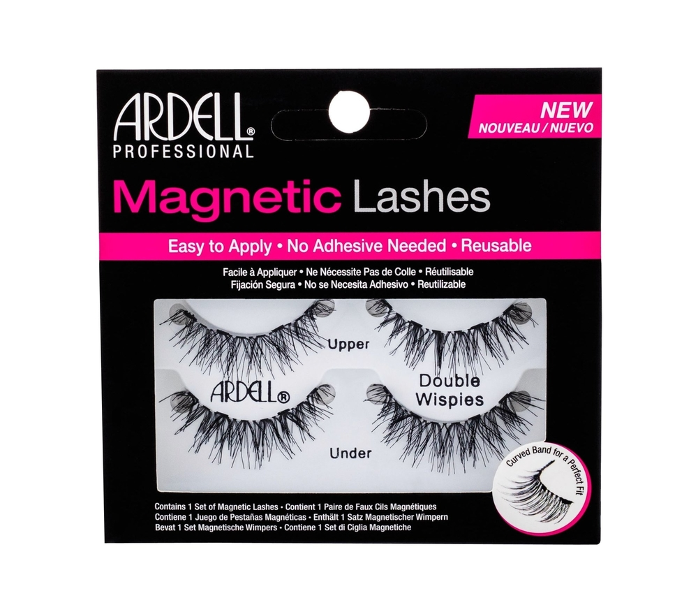 Ardell Magnetic Lashes Double Wispies False Eyelashes 1pc Black