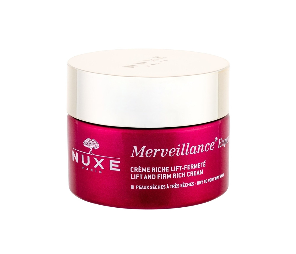 Nuxe Merveillance Expert Lift And Firm Day Cream 50ml Rich (Dry - All Skin Types - Wrinkles - Mature Skin)