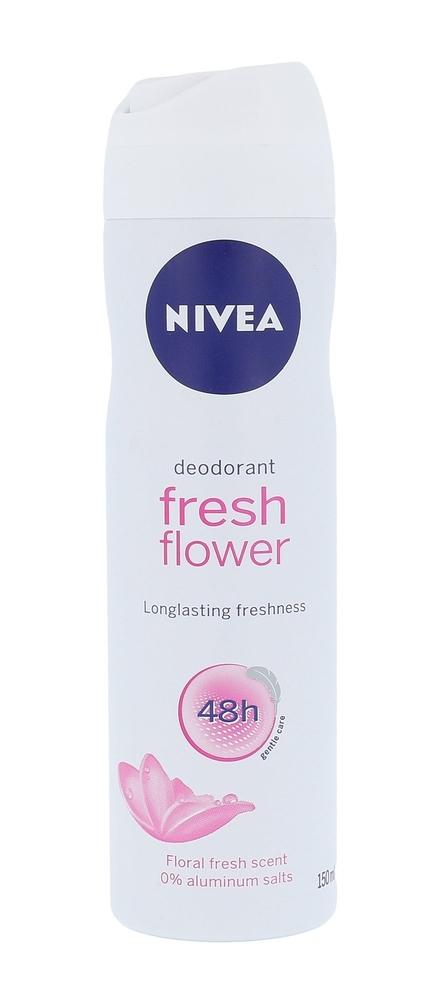 Nivea Fresh Flower 48h Deodorant 150ml Aluminum Free (Deo Spray)