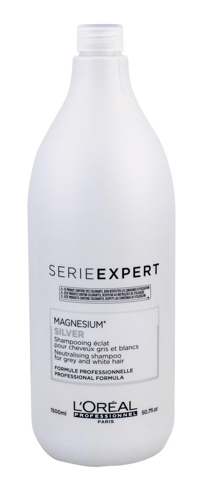 L/oreal Professionnel Serie Expert Silver Shampoo 1500ml (Highlighted Hair - Grey Hair)