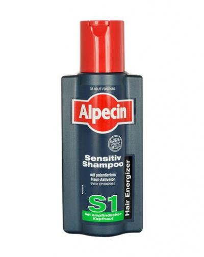 Alpecin Sensitive Shampoo S1 Shampoo 250ml (Sensitive Scalp