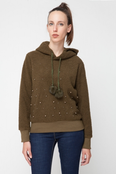 Cozy Sherpa Fleece Pullover