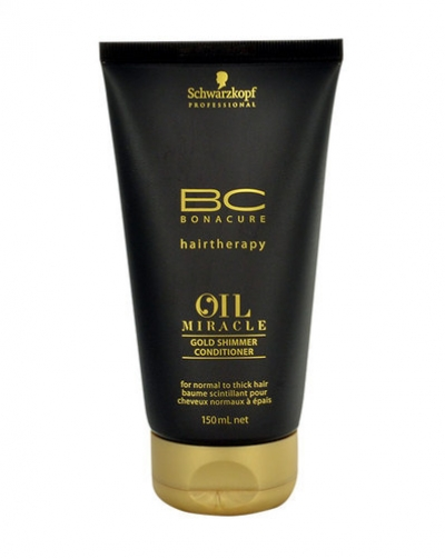 c755623e88 Schwarzkopf Bc Bonacure Oil Miracle Gold Shimmer Conditioner 150ml (All  Hair Types)
