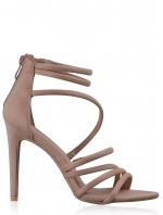 Nude Blush Strappy Sandal
