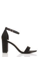 Heeled Sandals In Black