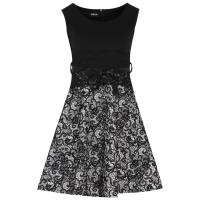 Φόρεμα Skater με Φούστα All Over Φλόκο