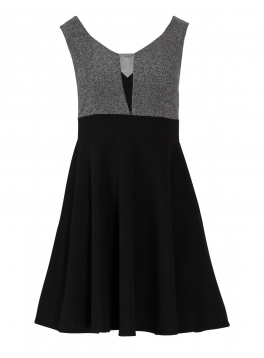 Sleeveless v Neck Midi Dress