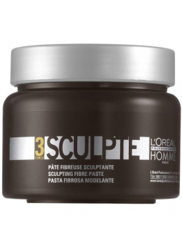 Loreal Professionnel Sculpting Fiber Paste Sculp Homme 150ml