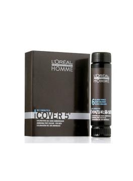 Loreal Paris Homme Cover 5 Hair Color 3X50ml Hair Color 4 Medium Brown Brown