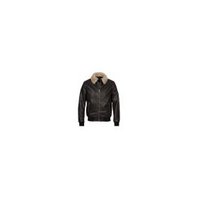 Shearling Collar Pilot Jacket