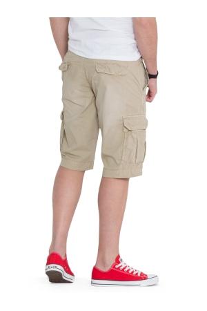 Cargo Shorts With Slim Belt