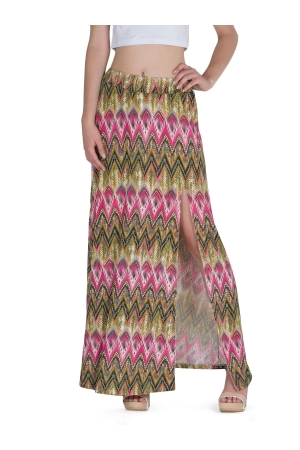 Maxi Skirt Tribal Print