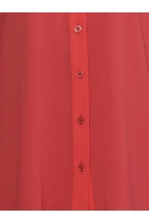 Asymmetrical Chiffon Shirt