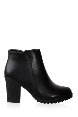 Cozy Leather Ankle Boots