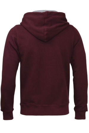 Zip Through Hooded Sweat