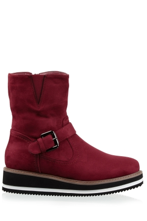 Flatform Ankle Boots