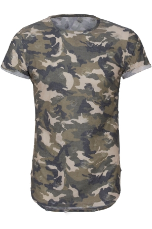 Camo Destroyed T-Shirt