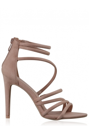Nude Blush Strappy Sandal