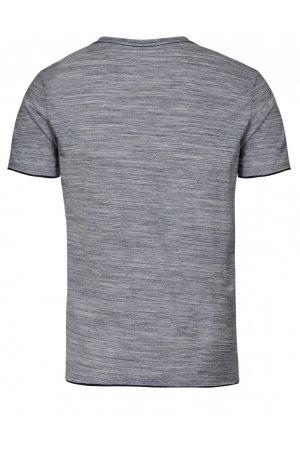 Cool Grey V-Neck T-Shirt