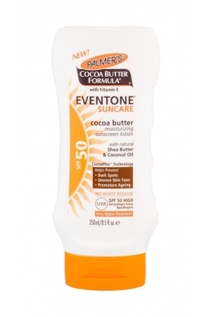 Palmer/s Eventone Suncare Cocoa Butter Sun Body Lotion 250ml Waterproof Spf50
