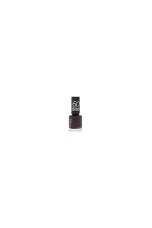 Rimmel London 60 Seconds Super Shine Nail Polish 8ml 345 Black Cherries